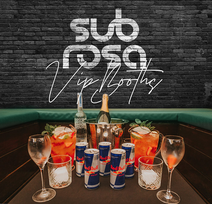sub rosa VIP-Booths - Functions Venue Brisbane